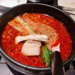 炎麻堂の麻婆豆腐と担々麺
